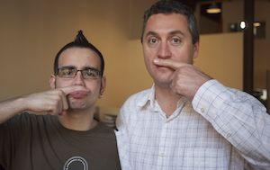 Arthur & Kevin, co-initiators of the CakeMo Team