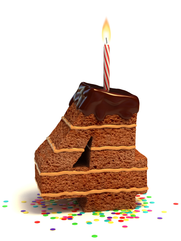 Happy 4th Birthday CakeMail!