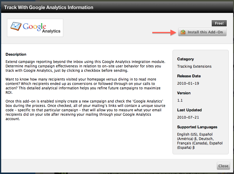 Use Google Analytics to track your campaigns | Cakemail blog