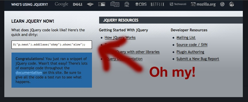 jQuery Spaghetti! tips and tricks for cleaner code