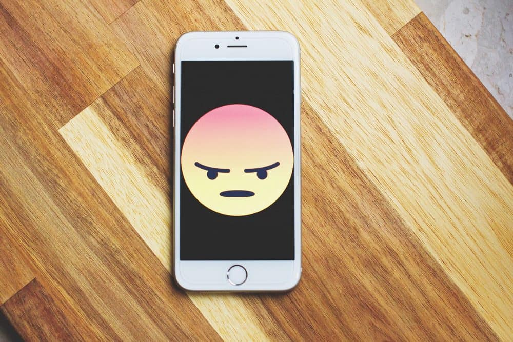 Phone with unhappy face - Photo by freestocks.org from Pexels