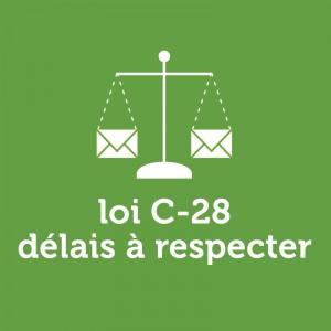 loi c-28 délais à respecter