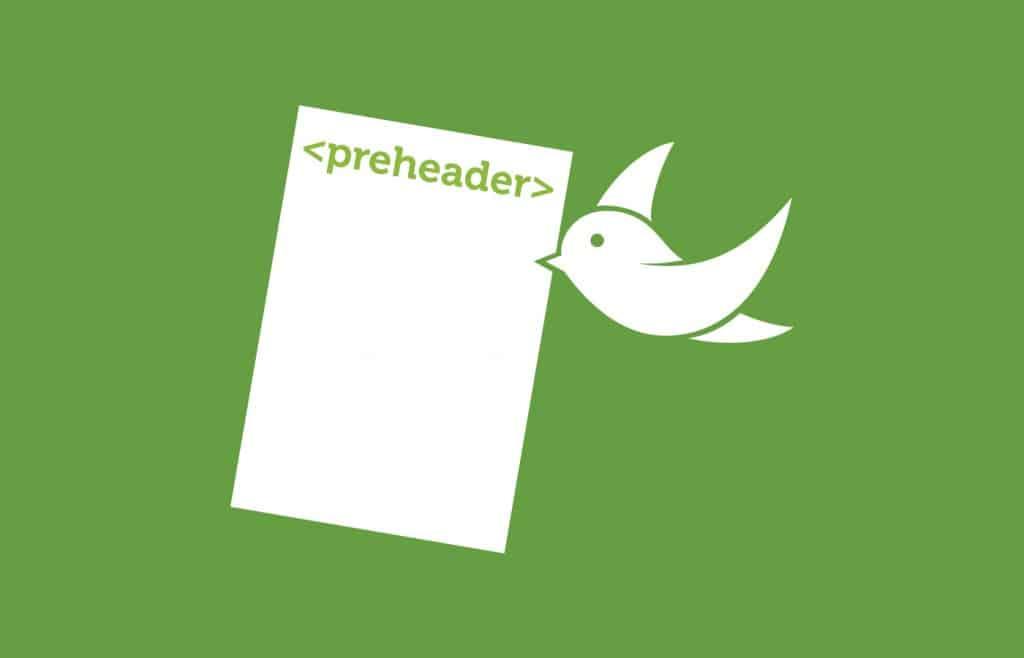 Utilisation d'un preheader pour augmenter vos taux d'ouverture