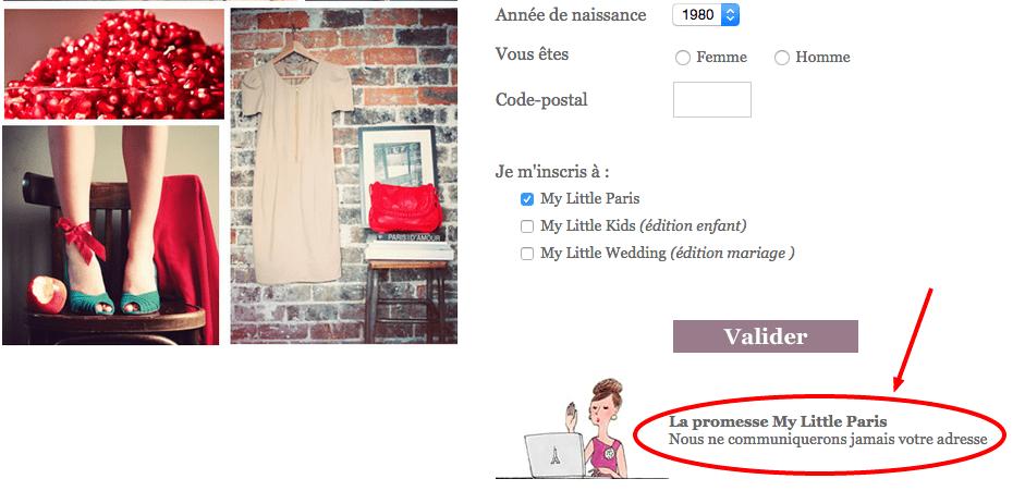 My Little Paris newsletter rassure