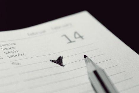 Inspiration calendrier de contenu-courrielleur