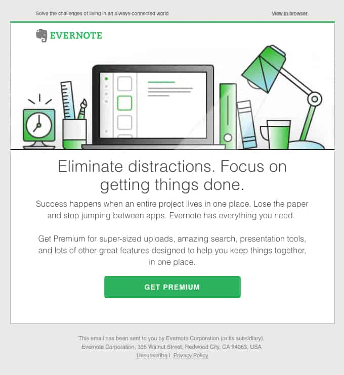 Email marketing best practice examples