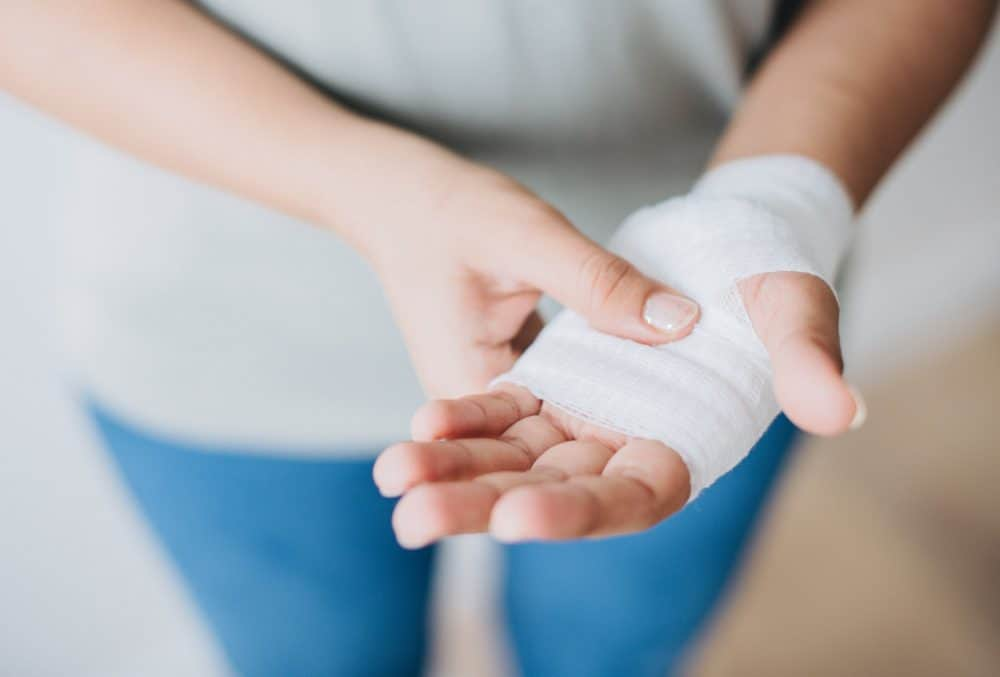Bandage on a hand Photo by rawpixel.com from Pexels