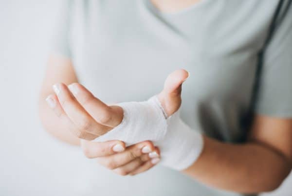 Bandage on a hand. Photo by rawpixel.com from Pexels