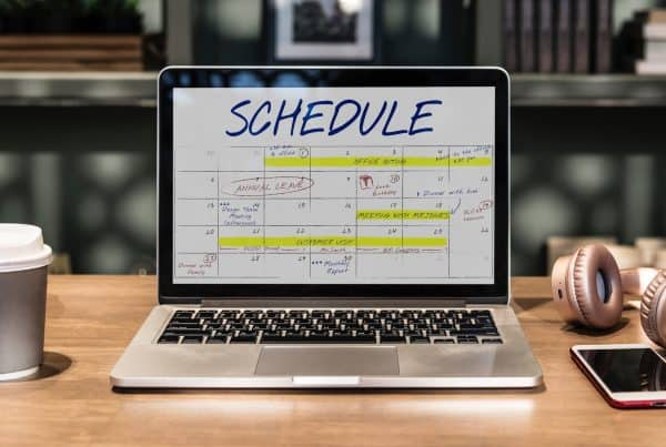 Calendar on a screen - Photo by rawpixel.com from Pexels