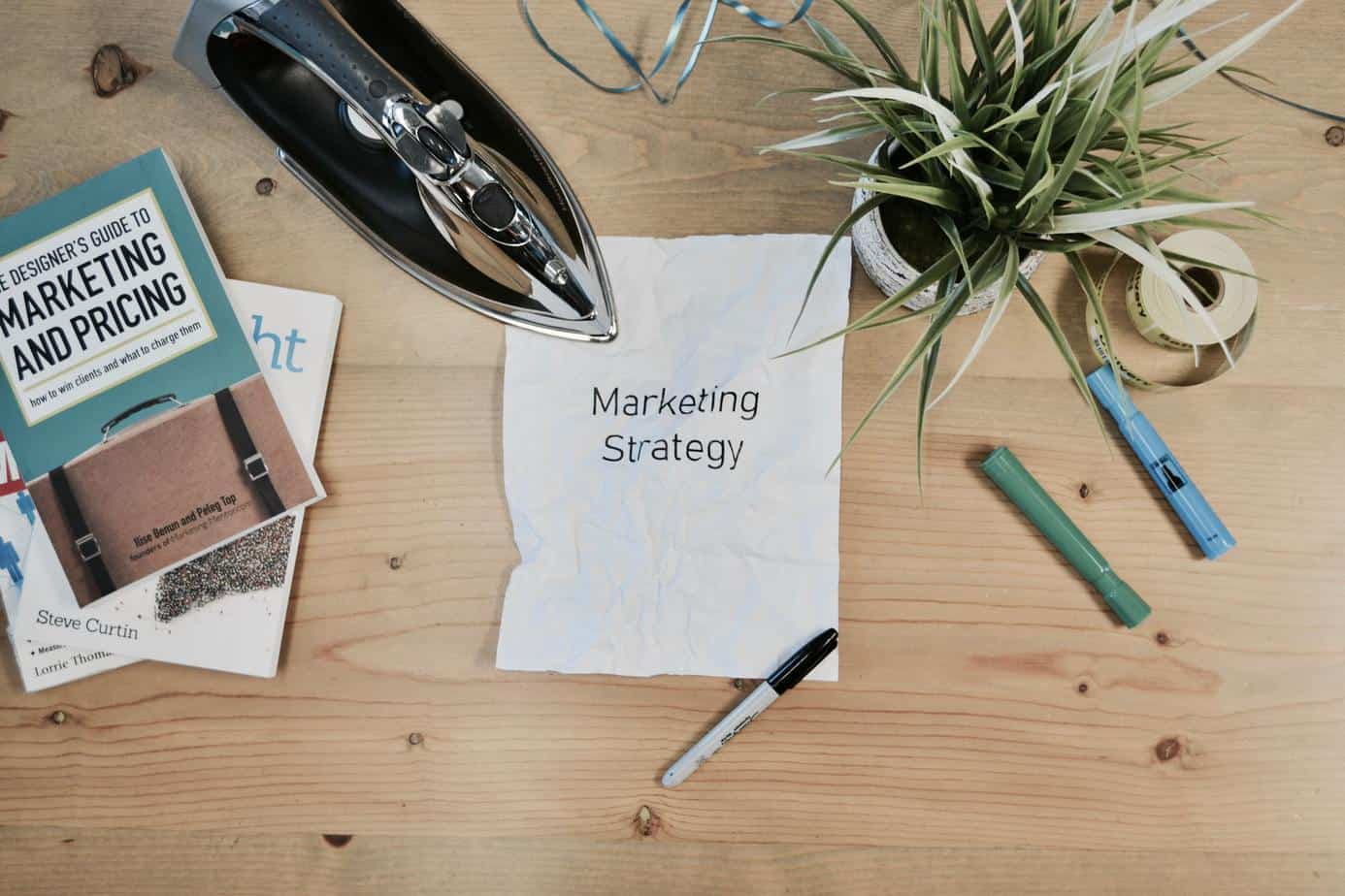 Ironing Marketing Strategy - Photo by Campaign Creators on Unsplash