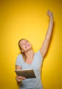 Lady cheering - Lady cheering Credit: Pexels Andrea Piacquadio