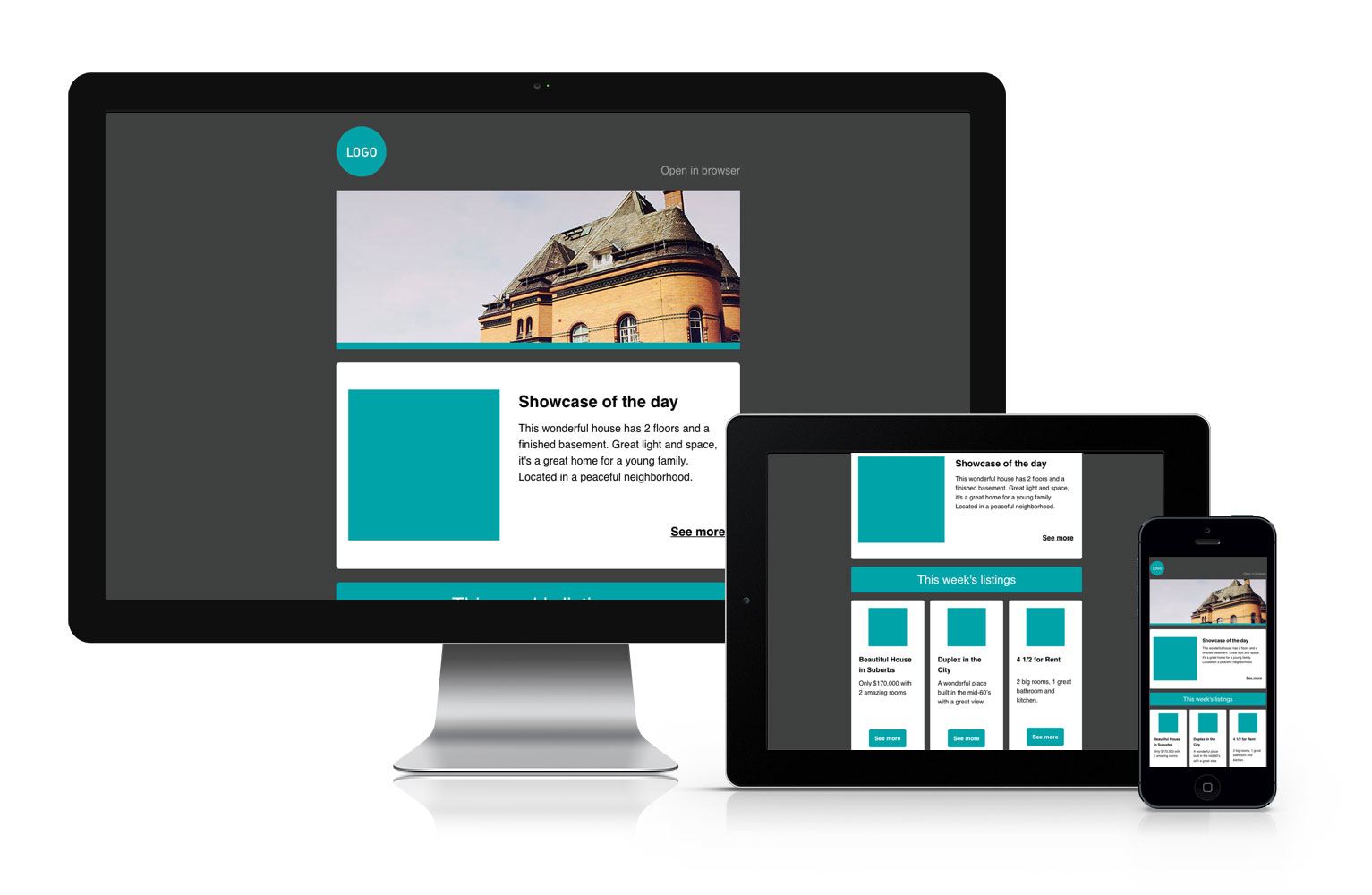 Real Estate Email Template Free Download Cakemail