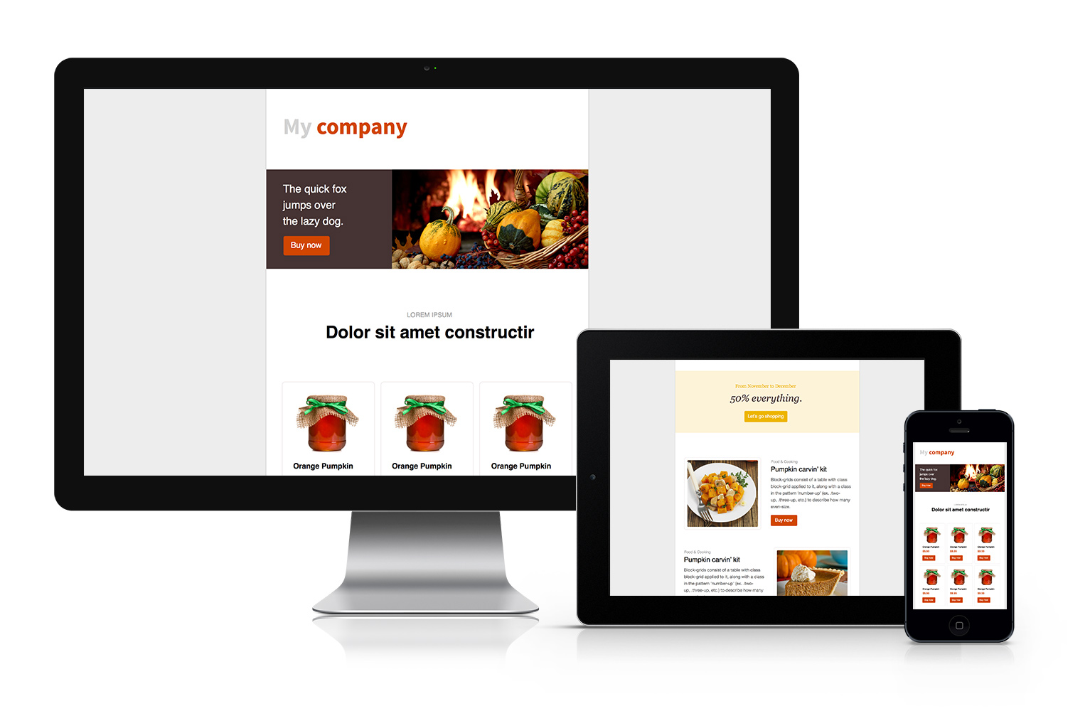 Thanksgiving Email Template Free Download Cakemail