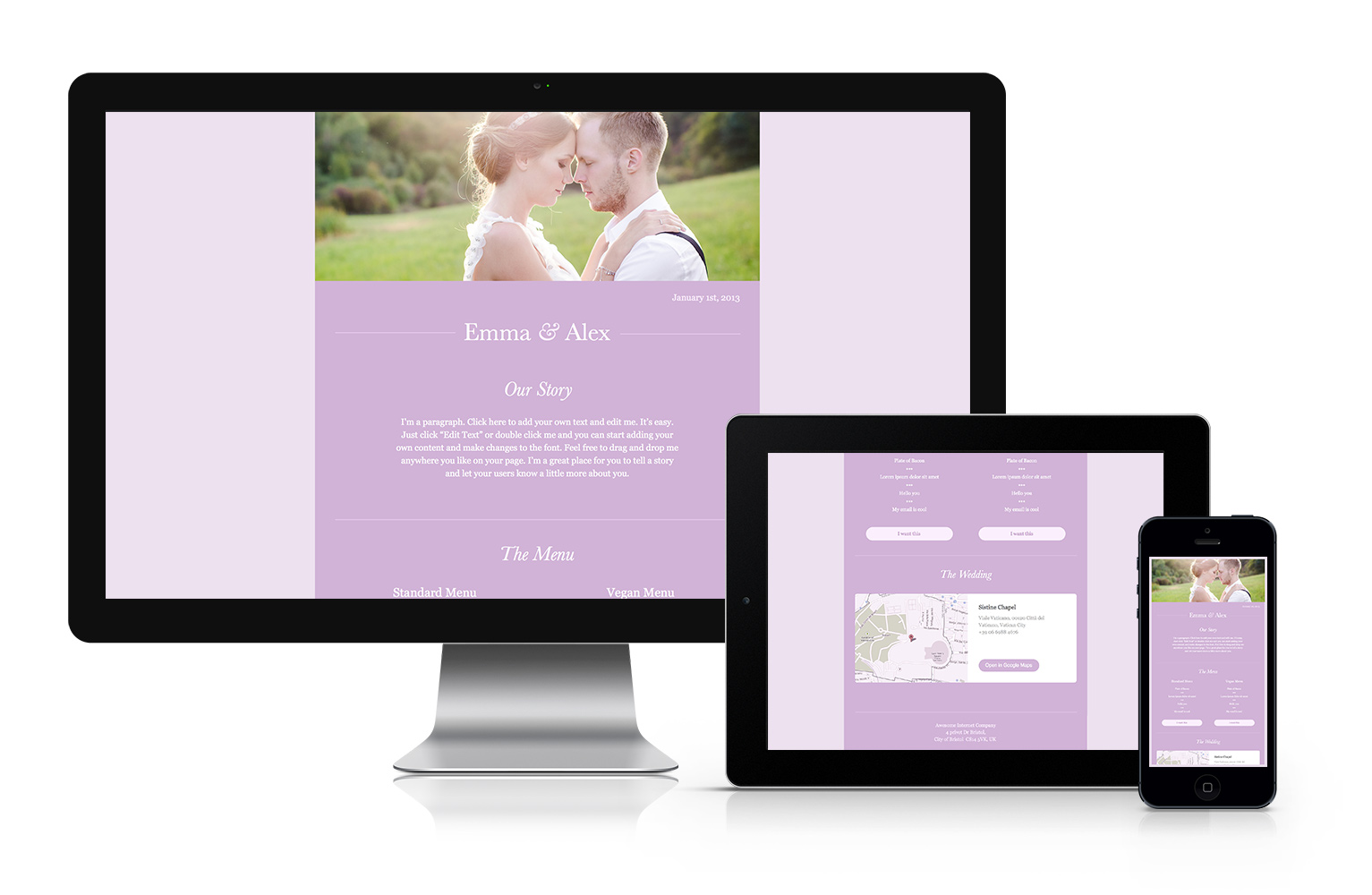 Wedding Email Template Free Download Cakemail